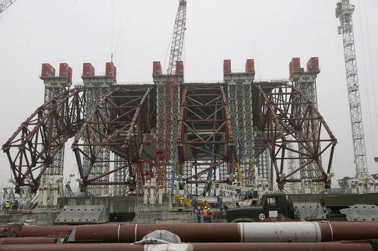 Chernobyl nuclear power station new sarcophagus, Ukraine photo 6