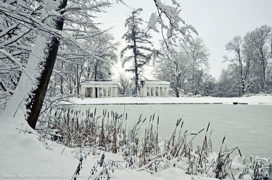 Snowy Alexandria park, Bila Tserkva, Ukraine photo 12