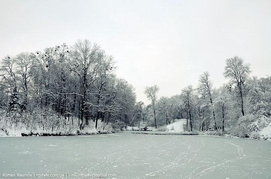 Snowy Alexandria park, Bila Tserkva, Ukraine photo 13