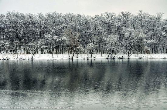 Snowy Alexandria park, Bila Tserkva, Ukraine photo 14