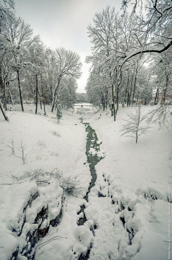 Snowy Alexandria park, Bila Tserkva, Ukraine photo 15
