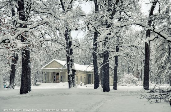 Snowy Alexandria park, Bila Tserkva, Ukraine photo 16