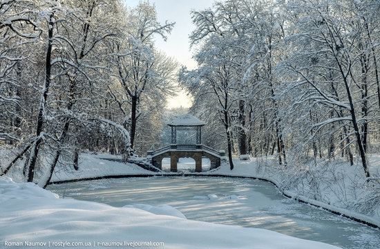 Snowy Alexandria park, Bila Tserkva, Ukraine photo 18