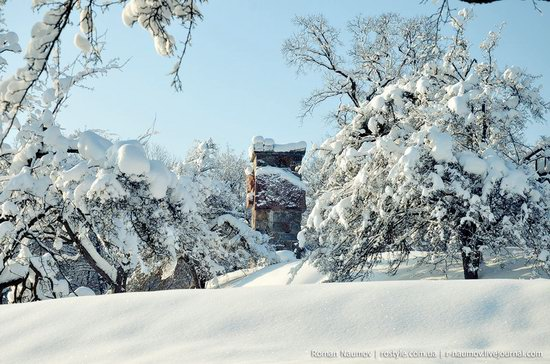 Snowy Alexandria park, Bila Tserkva, Ukraine photo 24