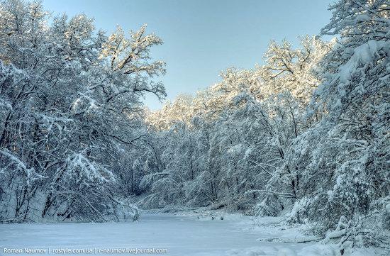 Snowy Alexandria park, Bila Tserkva, Ukraine photo 26