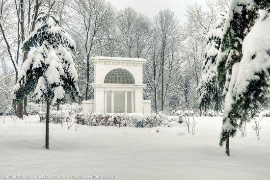 Snowy Alexandria park, Bila Tserkva, Ukraine photo 8