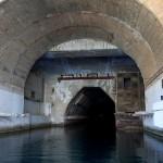 Anti-nuclear underground submarine base in Balaklava