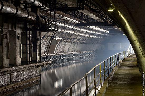 base submarina subterrânea em Balaklava, Crimeia, Ucrânia foto 10