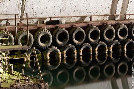 base submarina subterrânea em Balaklava, Crimeia, Ucrânia foto 11