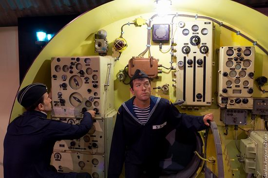 base submarina subterrânea em Balaklava, Crimeia, Ucrânia foto 15