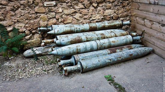 base submarina subterrânea em Balaklava, Crimeia, Ucrânia Photo 17
