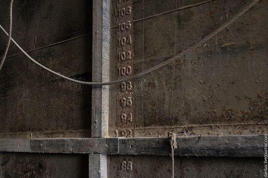 base submarina subterrânea em Balaklava, Crimeia, Ucrânia foto 3