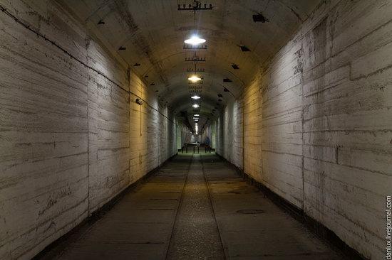 base submarina subterrânea em Balaklava, Crimeia, Ucrânia foto 5