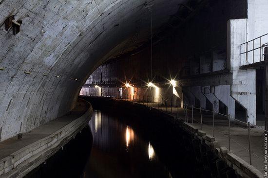 Underground submarine base in Balaklava, Crimea, Ukraine photo 6