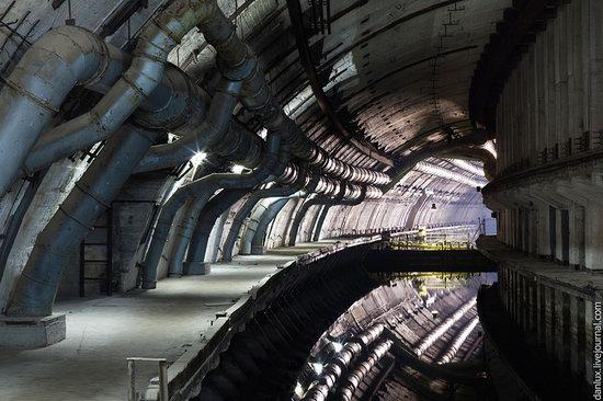 base submarina subterrânea em Balaklava, Crimeia, Ucrânia foto 8