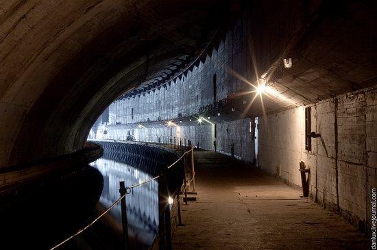 base submarina subterrânea em Balaklava, Crimeia, Ucrânia foto 9