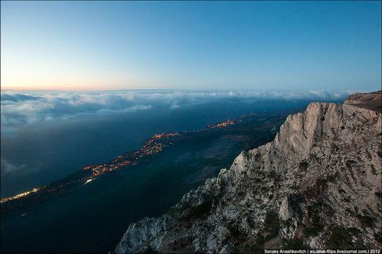 Ai-Petri - foggy and windy peak, Crimea, Ukraine photo 2