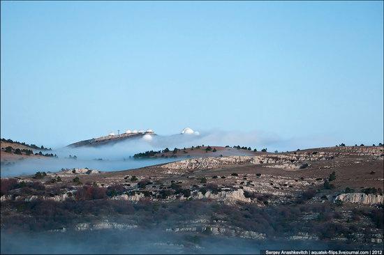 Ai-Petri - foggy and windy peak, Crimea, Ukraine photo 5