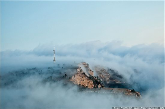 Ai-Petri - foggy and windy peak, Crimea, Ukraine photo 6