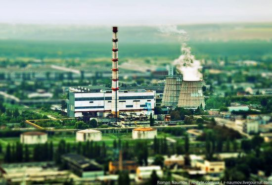 Bila Tserkva city, Ukraine tilt-shift photo 1
