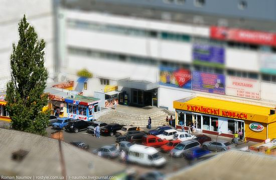 Bila Tserkva city, Ukraine tilt-shift photo 10