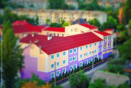 Bila Tserkva city, Ukraine tilt-shift photo 12