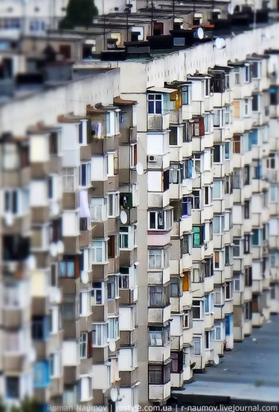 Bila Tserkva city, Ukraine tilt-shift photo 14