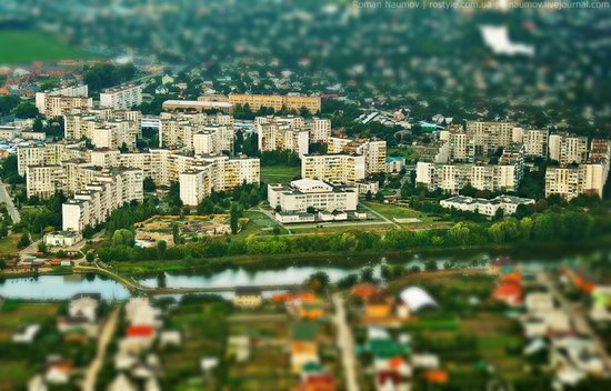 Bila Tserkva city, Ukraine tilt-shift photo 15