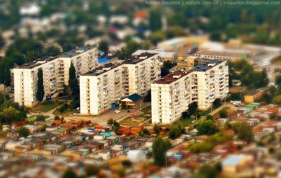 Bila Tserkva city, Ukraine tilt-shift photo 16