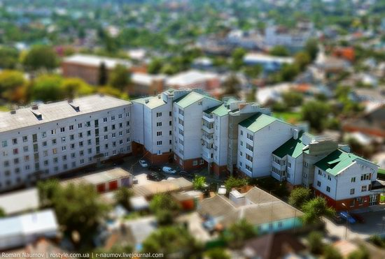 Bila Tserkva city, Ukraine tilt-shift photo 3