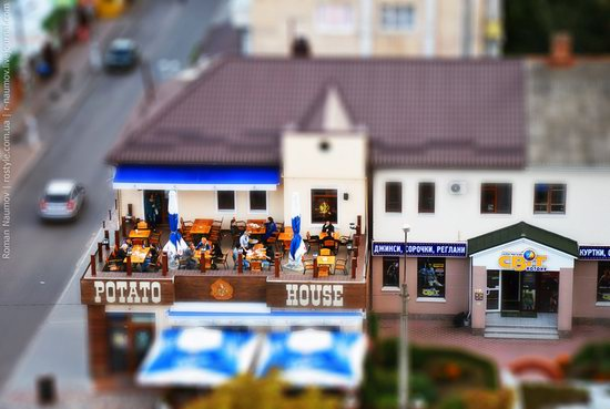 Bila Tserkva city, Ukraine tilt-shift photo 4