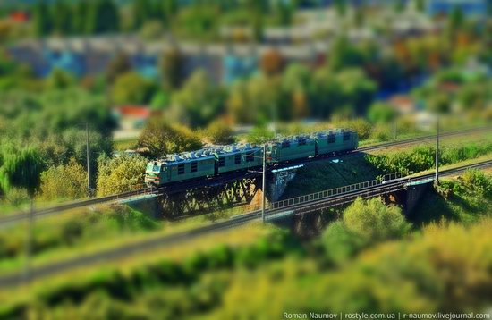 Bila Tserkva city, Ukraine tilt-shift photo 5