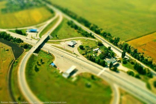 Bila Tserkva city, Ukraine tilt-shift photo 6