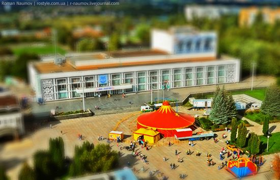 Bila Tserkva city, Ukraine tilt-shift photo 7