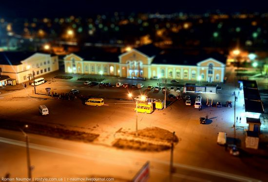 Bila Tserkva city, Ukraine tilt-shift photo 8