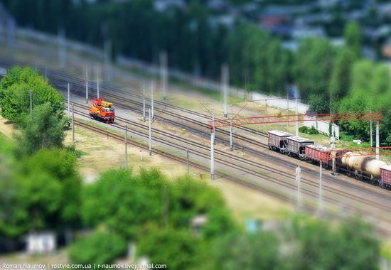 Bila Tserkva city, Ukraine tilt-shift photo 9