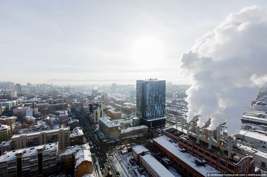 Kiev, capital of Ukraine, after snowfall photo 20