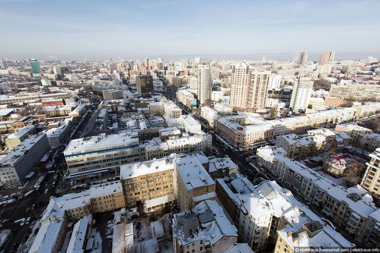 Kiev, capital of Ukraine, after snowfall photo 24