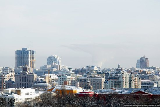 Kiev, capital of Ukraine, after snowfall photo 4