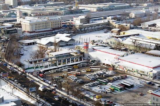 Kiev, capital of Ukraine, after snowfall photo 5