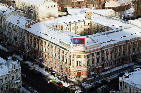 Kiev, capital of Ukraine, after snowfall photo 8
