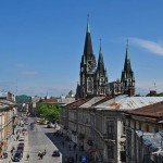 Lviv from the height of 18 meters