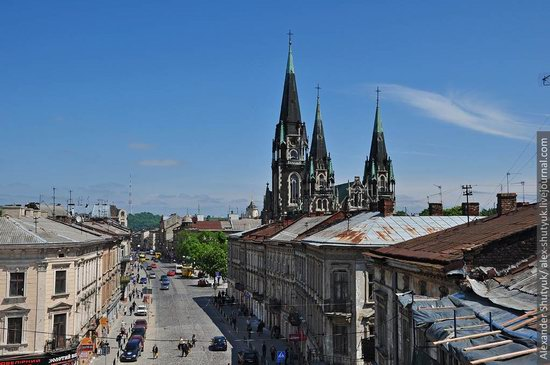 Lviv from the height of 18 meters, Ukraine photo 1