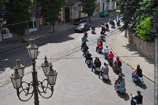 Lviv from the height of 18 meters, Ukraine photo 13