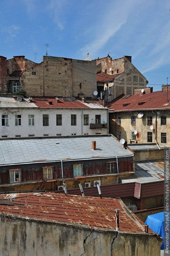 Lviv from the height of 18 meters, Ukraine photo 14