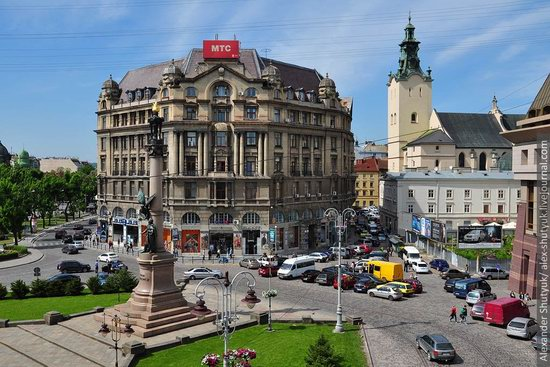 Lviv from the height of 18 meters, Ukraine photo 16