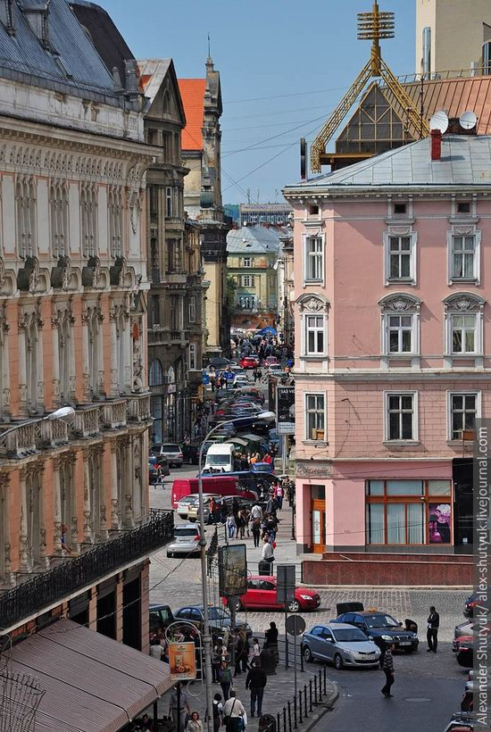 Lviv from the height of 18 meters, Ukraine photo 28