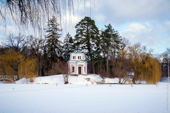 Snow-covered Sofiyivka park, Uman, Ukraine photo 23