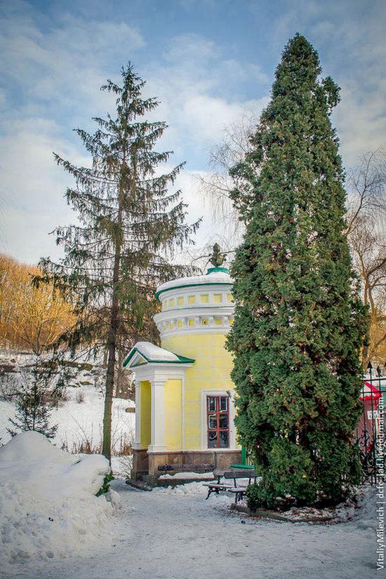 Snow-covered Sofiyivka park, Uman, Ukraine photo 27