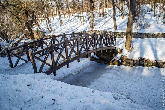 Snow-covered Sofiyivka park, Uman, Ukraine photo 5